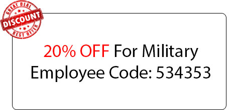 Military Employee Discount - Locksmith at North Richland Hills, TX - North Richland Hills Texas Locksmith